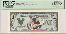 1987 $1 Mickey Disney Dollar PCGS 65PPQ First year Type 1 PROOF Rare no serial #
