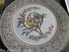 "Edward Marshal Boehm bird plate ""Meadowlark"" by Lenox, Nib, with certs"