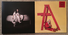 Billie Eilish - 2 Vinyl LP Lot - When We All Fall Asleep & Don't Smile At Me