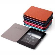 Funda para Kindle Voyage - Piel Lavada PU, tapa con cierre magnético, tipo libro