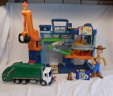 Disney Toy Story Movie Imaginext Tri-County Landfill Playset + Talking Lotso Bea