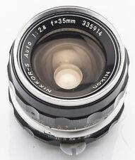 Nikon Nikkor-S Nikkor S Auto 35mm 35 mm 2.8 1:2.8
