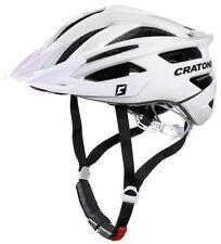 CRATONI Fahrradhelm Agravic MTB Gr. L/xl 58-62cm Glanz weiß