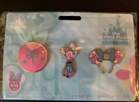 Disney Minnie Mouse The Main Attraction It's a Small World Pin Set IN HAND