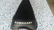 Kawasaki KE175 KE 175 1976  Replacement Seat Cover White Dyed Logo (K18)