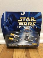 1998 STAR WARS EPISODE 1 Micro Machines Pod Racer Pack 1 by Galoob Vintage Toy