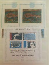 Varia, 3 Blocs de timbres neufs MNH, bien
