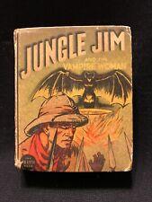 SALE! Big Little Book Jungle Jim Vampire and the Vampire Woman