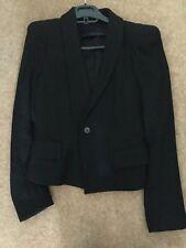Zara Ladies' black blazer style jacket in size Small