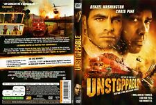 UNSTOPPABLE - FILM avec Denzel WASHINGTON et Chris PINE - 98 mn - 2010 -OCCASION