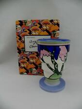 VERY RARE -Wedgwood CLARICE CLIFF  Bizarre *RUDYARD* Stepped Vase - W / Box
