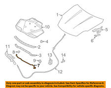 Infiniti NISSAN OEM 03-07 G35 Hood-Support Prop Rod 65771AL520