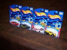 HOT WHEELS - TUNERS SERIES - LOT OF 4 - 063 - 064 - 065 - 066 - NEW