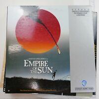 """Empire of the Sun"" Warner Home Video Laserdisc LD - Steven Spielberg Free Ship"
