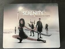 Serenity RARE Play.com Blu-ray STEELBOOK - VERY RARE - REGION-FREE!!