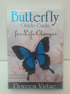 """Butterfly Oracle Cards 44 Card Deck & Guidebook Doreen Virtue """"AUTHENTIC"""" 💯%💥"""