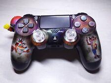 Manette PS4 Customisé à l'aérographe !!! Dualshock 4 Sixaxis crash bandicoot