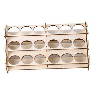 Craft Model Moduler 18 Bottles Paint Shelf Storage Rack Holder Organizer