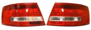 Audi A6 4F2 C6 2004-2011 Saloon Rear Tail Signal Lights Lamp Set Left +Right LED