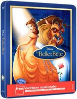Blu-ray Belle et la Bête Disney Steelbook Édition Limitée Exclusive Fnac