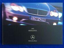 Prospekt Brochure Mercedes AMG W168 W203 W210 W220 W163 W208 C215 R170 R129 0500