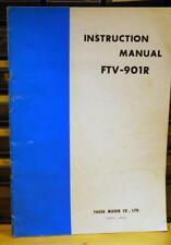 Yaesu FTV-901R Instruction Manual