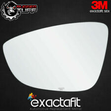Driver Side Rear View Mirror Glass Replacement Left Hand Fits Volkswagen CC EOS Jetta Passat by exactafit 8114L Adhesive Install