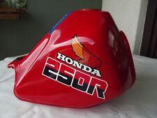 Honda XL 250 R  MD11 Enduro Tank / Benzintank  in Originalen Honda rot