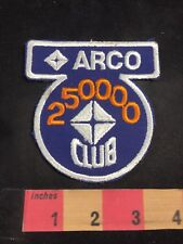 ARCO GAS STATION 250000 Club Advertising Patch 85N2