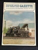 Narrow Gauge and Short Line Gazette November 1977