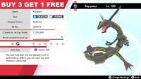 ✨6iv's SHINY Rayquaza + FREE Master Ball✨ - Pokemon Shield and Sword