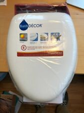 Toilet Seat Padded Elongated Bath Decor New