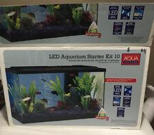 New listing Aqua Culture 10 Gallon Aquarium Starter Kit with Led