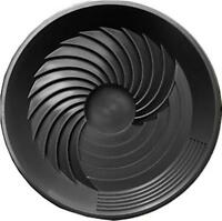 "Turbo Pan Black 16"" Plastic Gold Pan Sluice Geologist Prospecting Gem Turbopan"