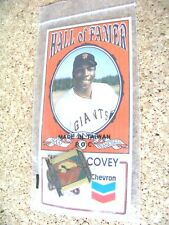 Chevron Hall of Famer SF San Francisco Giants Willie McCovey lapel pin