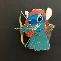 Stitch as Merida from Brave - FANTASY Disney Pin 0