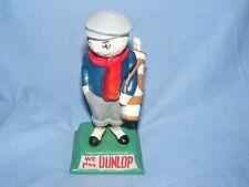 More details for dunlop golfer cast iron figure new golf man advertising