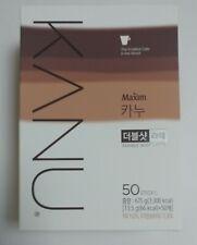 Maxim KANU Double Shot Latte Korean Instant Coffee Mix 50 Sticks