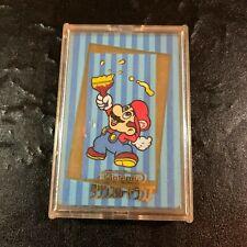 NINTENDO Super Mario Paint Trump Deck Card Complete JAPAN RARE