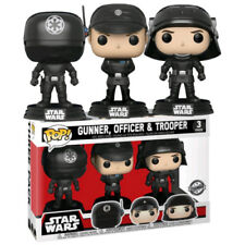 FUNKO POP STAR WARS DEATH STAR GUNNER OFFICER AND TROOPER 3 PACK EXCLUSIVE SET