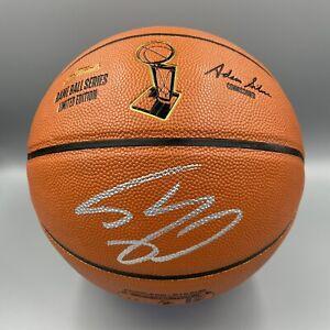 Shaquille O'Neal Signed Autographed Spalding NBA Finals Basketball Beckett BAS
