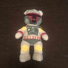 "Build a Bear Star Wars - Boba Fett Mandalorian Plush 18"" BAB"