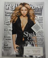 Rolling Stone Magazine Shakira & Vampire Rock November 2009 070815R