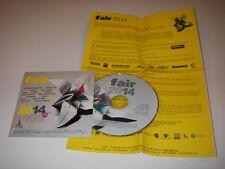 CD compil promo  FAIR 2014 Fauve Chassol Dom la nena Maissiat Superpoze Le Vasco