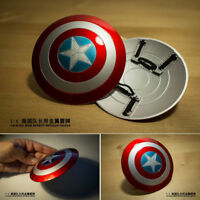 1:6 Captain America DIY Shield Prop Metal Material Can Buckle Hand Shield Gift