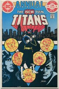 New Teen Titans Annual #2 1st Vigilante in Costume 1st Lyla VF+ 9.0