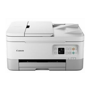 New Canon PIXMA TS7451 All-in-One Wireless Inkjet Printer white