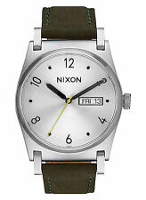 NEW Nixon A955 2232 Jane Green Women's Leather Strap Watch (NO BOX INCLUDED)