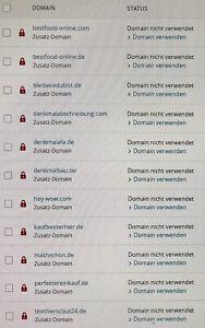 Domain: denkmalafa.de