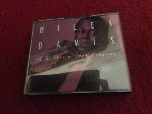 MILES DAVIS: IN STOCKHOLM 1960   4 cd boxset    excellent as new